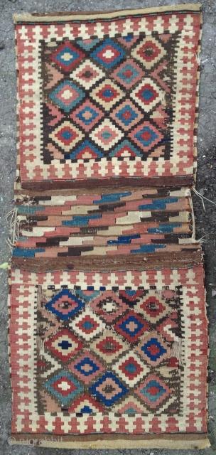 Shahsevan kilim bag 1850's 54x118cm