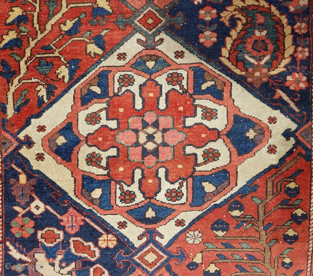 Early 20th Century Persian Bakhtiari Runner size 110x338 cm