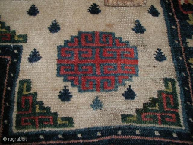 Tibetan saddle