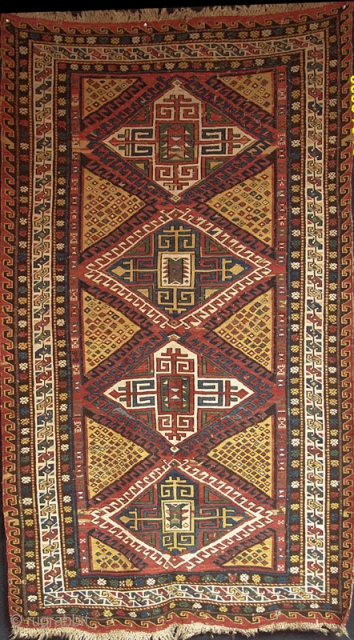 Vibrant yellow field Caucasian Soumac from the 4th