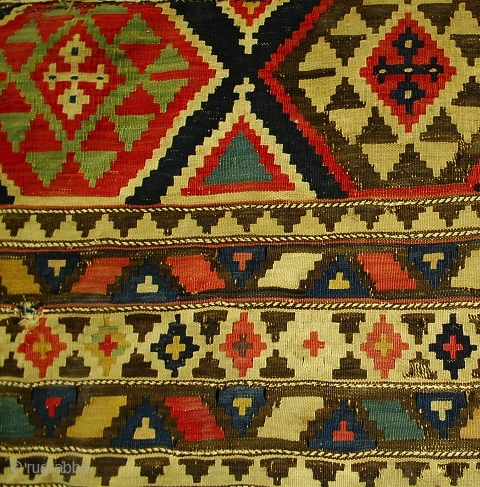 Colors, colors, colors ... Shirwan kilim, 167x150 cm more pieces: http://rugrabbit.com/profile/5160