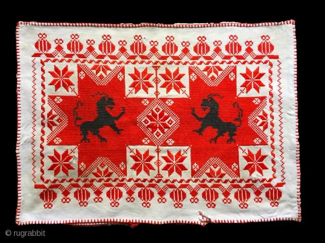 Transylvanian pillow case. more pieces: http://rugrabbit.com/profile/5160