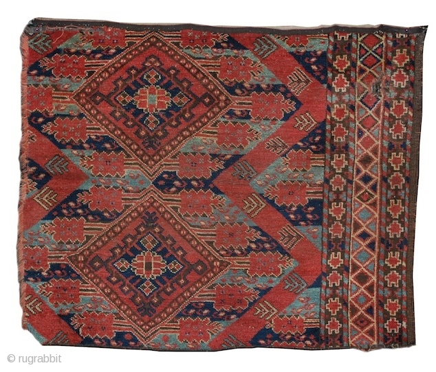Bashir Turkmen fragment, Middle Amu Darya region, mid 19th cen.