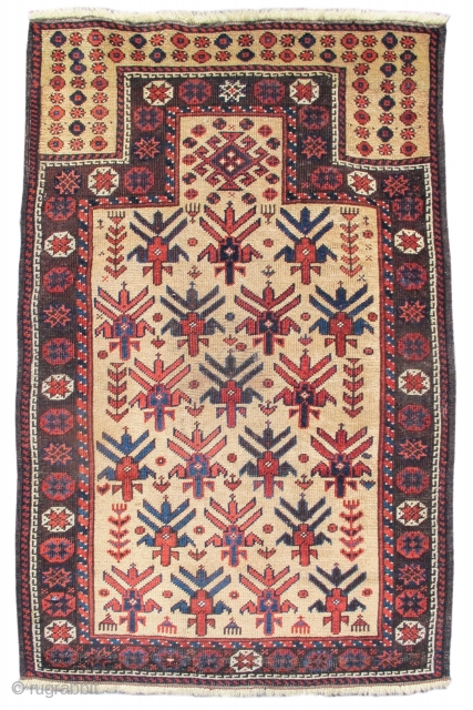 "Baluch prayer rug, 2'3""x3'4""