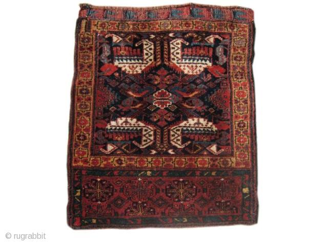 Kurd bag, 2'1'' x 2'7'', Late 19th Cent.