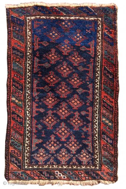 """Baluch balisht, 2'1""""x3'1"""", Inv#19064  http://www.peterpap.com/rugDetail.cfm?rugID=19064"""