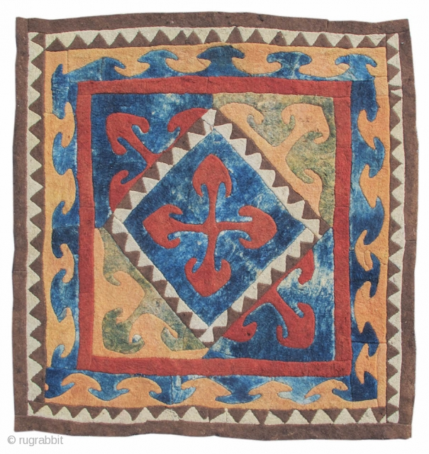 Kyrgyz Felt Fragment 