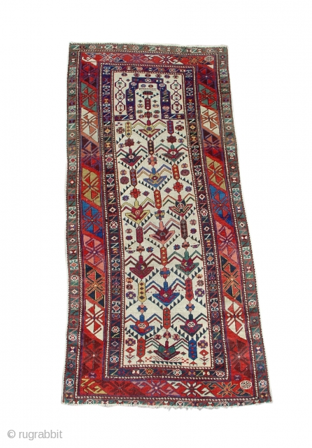 "Daghestan Prayer  3rd quarter of the 19th century  2'5"" x 5'3""   SOLD"