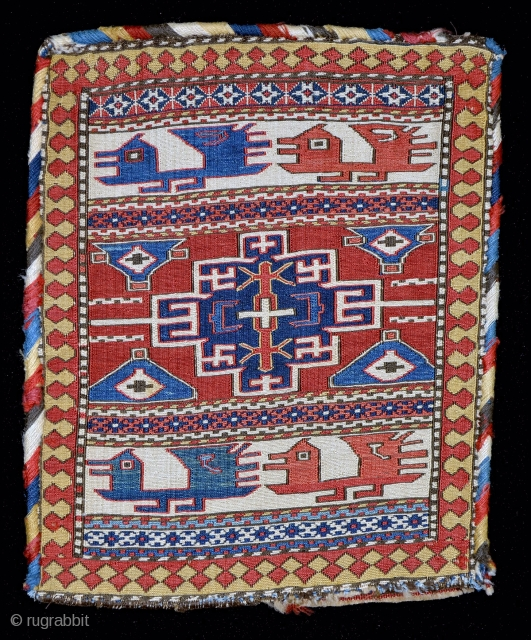 This exceptional Shahsevan sumak bag, published in both Wertime, 'Sumak Bags of Northwest Persia & Transcaucasia' as well as 'From the Bosphorus to Samarkand' will be one of over 150 quality tribal  ...