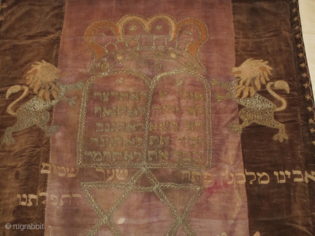 jewish torah scroll cover