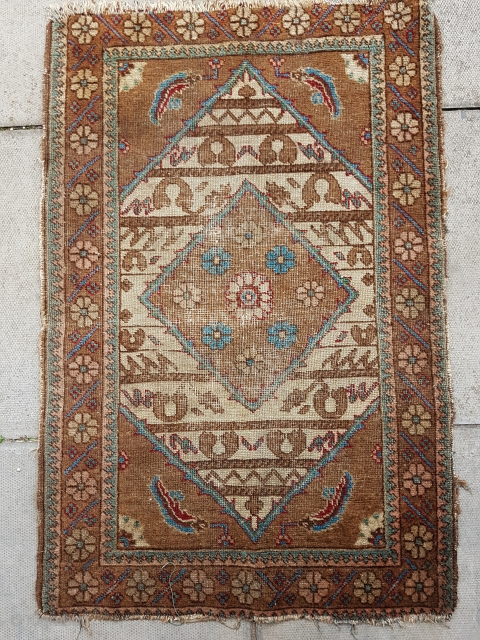 Antique village Tabriz (early 1900s) 77x115cm