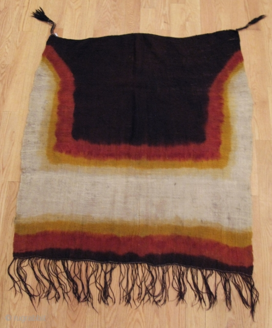 "Woman's Tie-dyed Ceremonial Veil, ""Adrar""