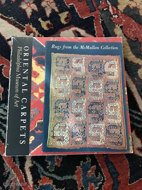 Two Rug books  - Philadelphia Museum  & McMullan Collection