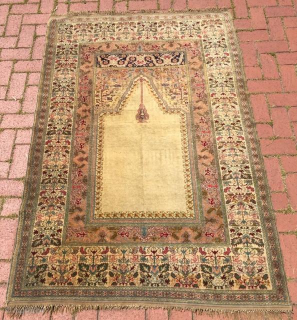 Turkish Bandırma excelent cobditions size 130 cm x 190 cm