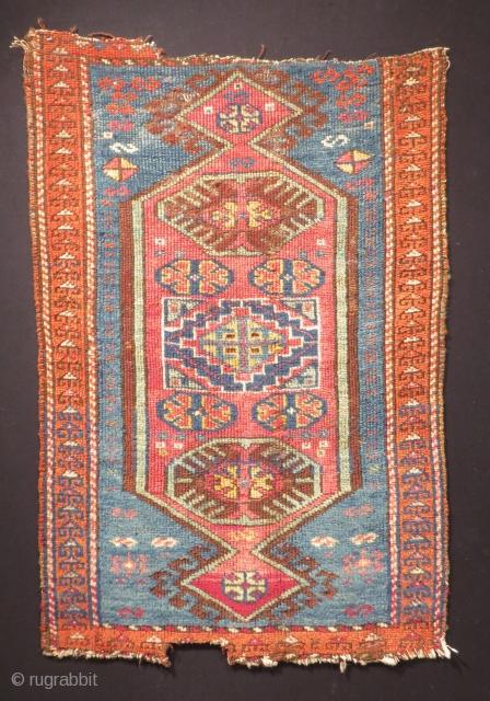 Central Anatolian Konya Cihanbeyli Yastık Size.84x55cm