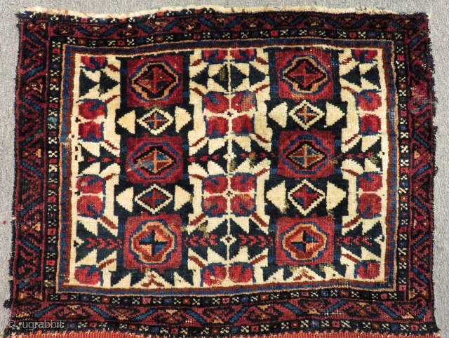 Antique Persian Kurdısh Bagface Size.66x50cm