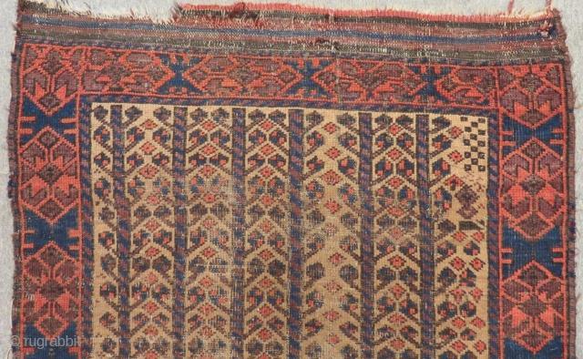 Antique Baluch Rug Size 127x90 Cm