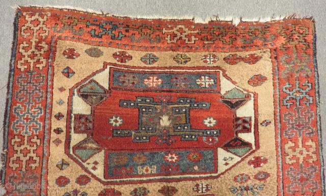 Antique East Anatolian Sivas Carpet Size.190x118cm