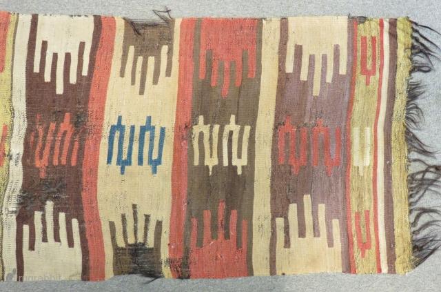 19th Century Anatolian Mut Kilim fragment Size.250x71cm