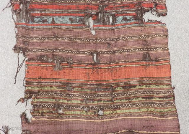 18th Century Central Anatolian Karaman Kilim fragment Size.280x100cm