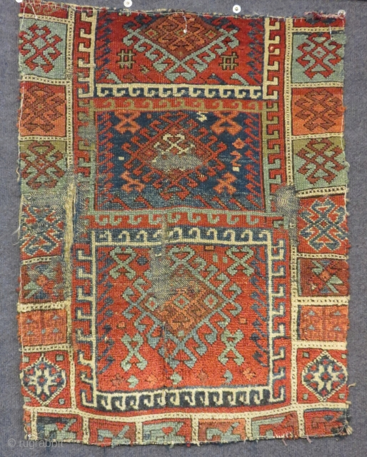 Antique East Anatolian Sivas Yastık Size.82x62cm