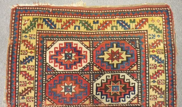 Antique Caucasian Mogan Carpet Size180x106cm