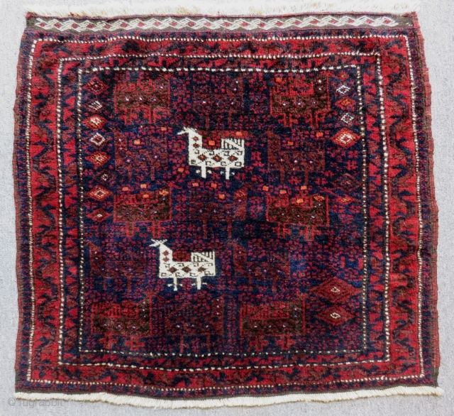 Antique Baluch Bag face Size.78x66 Cm
