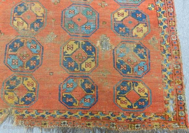 Early 19th Century Türkmen Beshir Rug Size.332x170cm