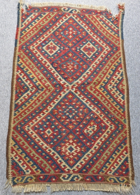 Antique East Anatolian Erzurum Kilim Size.97x61