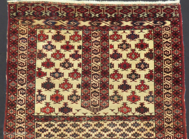 Türkmen Yamud Ensi  Rug All Colours Natural Circa 1940-50 Size.175x120 Cm