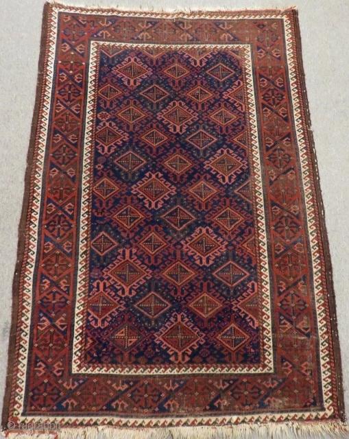 Antique Baluch Rug Size.150x102 Cm
