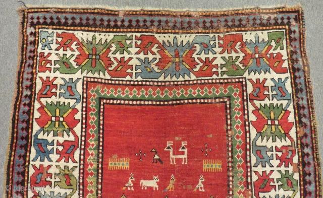 Antique Caucasian Borjalu Rug Size.232x122cm