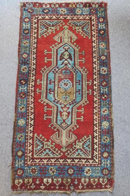 Antique Central Anatolian Konya Yastık Size.130x63cm