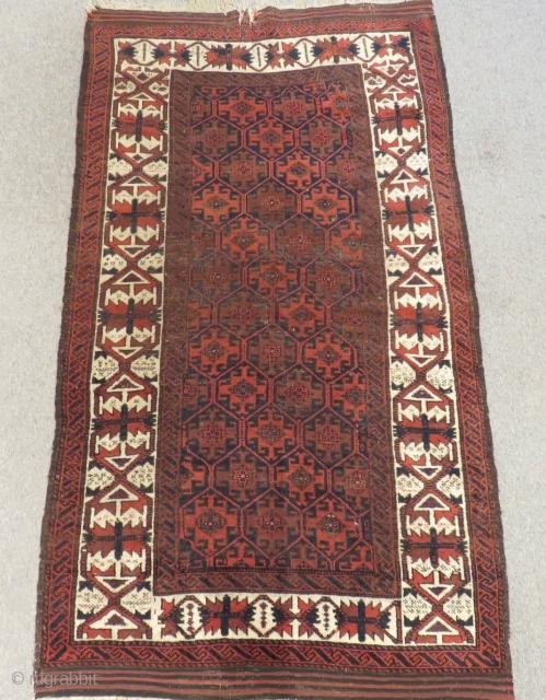 Antique Baluch Rug Size.180x105cm