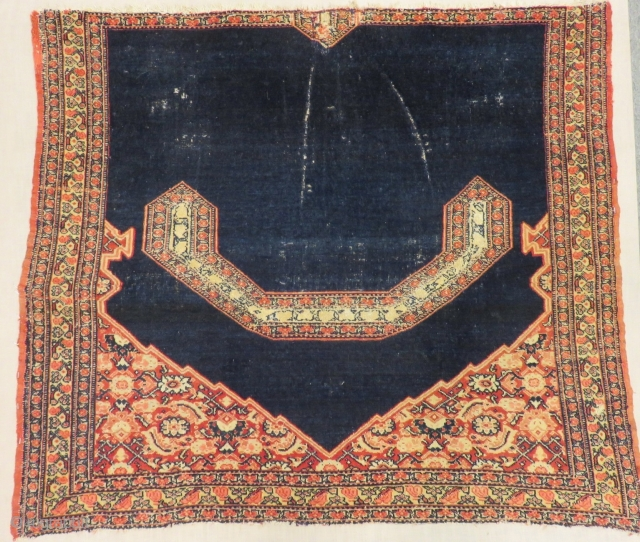Antique Persian Horse Cover Size.100x86cm