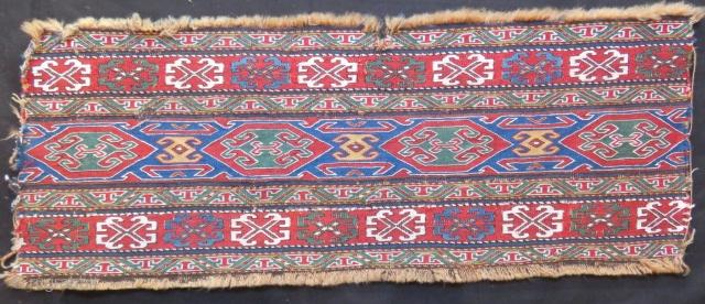 Antique Shahsavan Sumak Panel Size.100x36cm