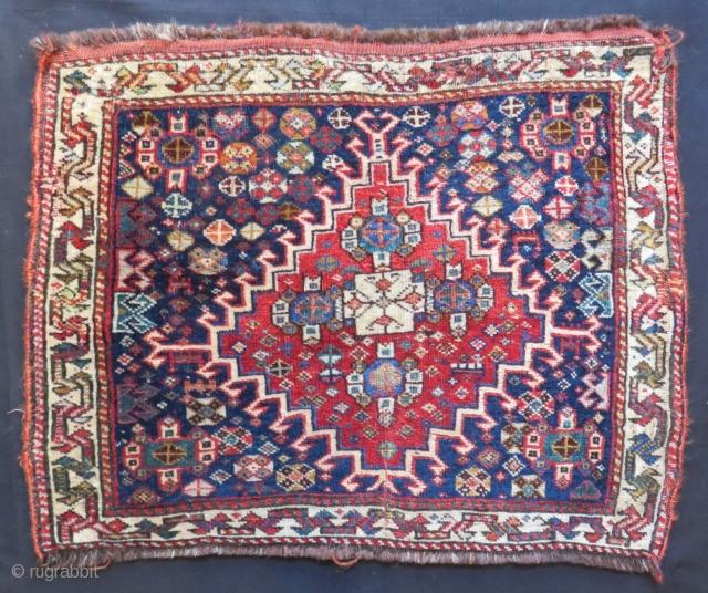 Antique Qashqai Bagface Size.68x51cm