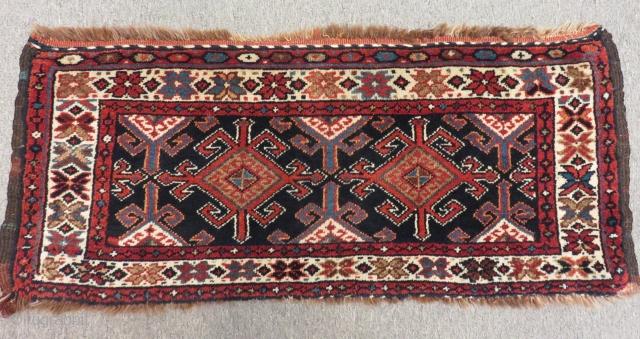Antique Persian Veramin Bagface Size.96x43cm