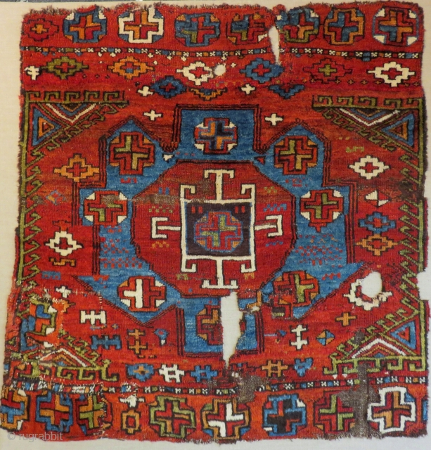 Early 18th Century Konya Rug not original One model cut
