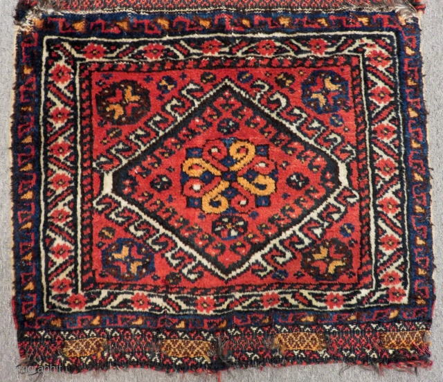 Antique Qashqai Khamseh Bagface Size.57x43cm