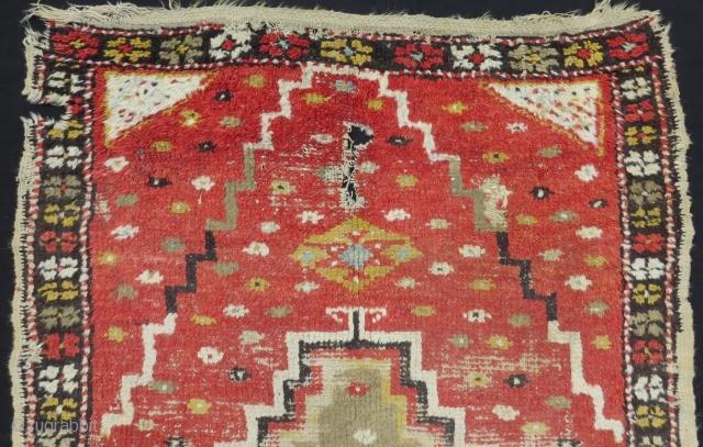 Mid 19th Century East Anatolian Tulu Size165x124 Cm