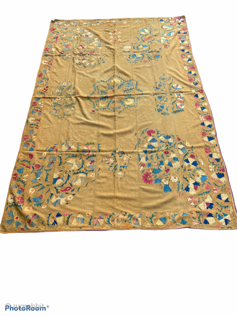 Rare 19th century Uzbek suzani