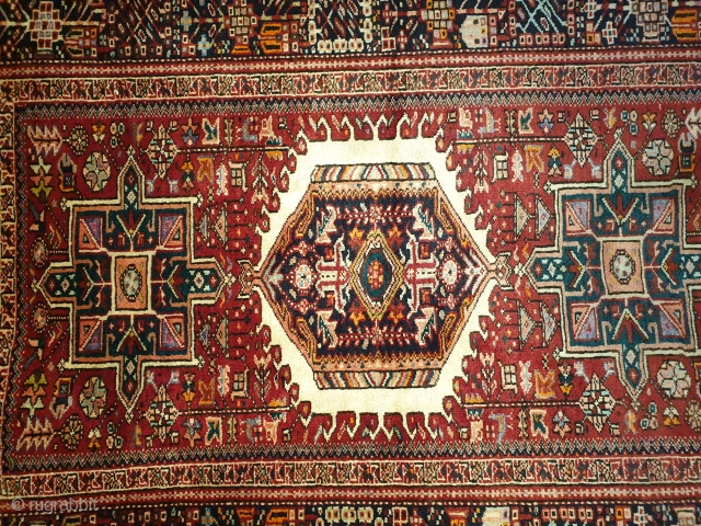 Antique qaraja rug