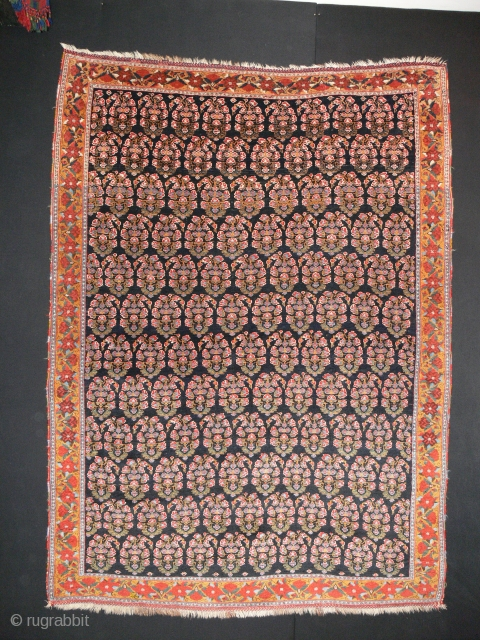 Ref 1349 Finely woven Afshar in excellent condition. 5'10 x 4'3 - 176 x 127. Nineteenth century with all natural dyes.