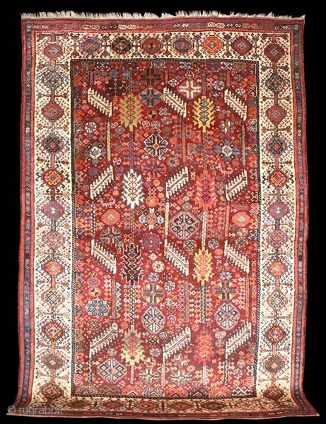 1292 Shekarlu late nineteenth century. In excellent condition with all natural dyes.