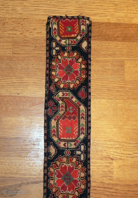 1436 Uzbek embroidered belt. !9th century in good condition