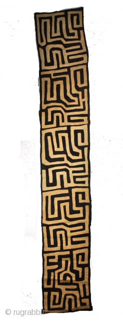 Ritual dress, Kuba, Congo. 2nd half 20th century. 