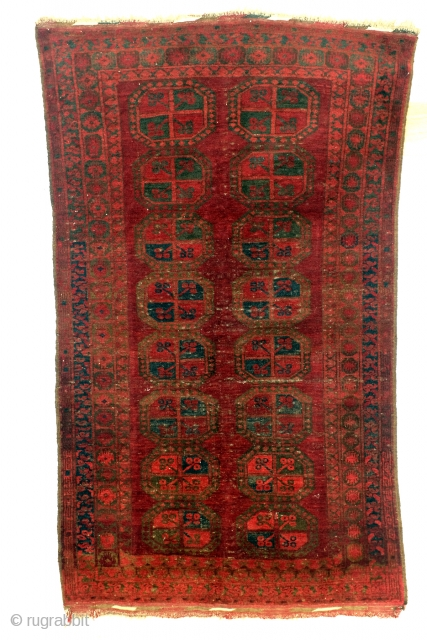 Turkoman Ersari Bukhara, 180 x 106 cm.