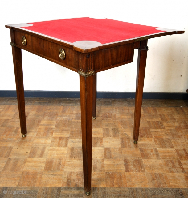 18th century playfull gaming table. 