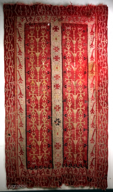 19th century Sarkoy, 285 x 162 Cm. 